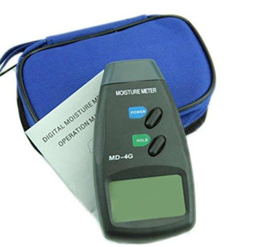 Digital 4 Steel Pin LCD Detector 5%-40% Wood Water Moisture Humidity Meter Garden Damp Testing Tools by ShopIdea