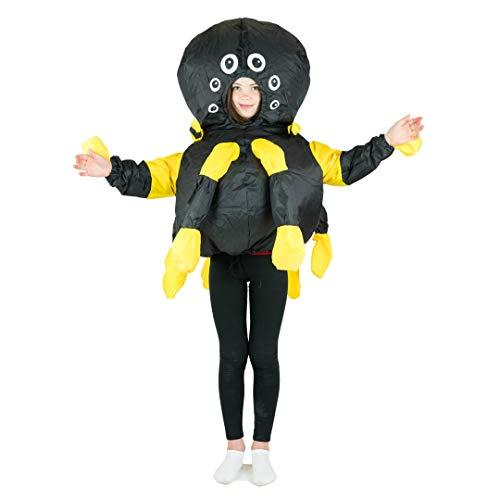 Bodysocks Kids Inflatable Spider Fancy Dress Costume ()