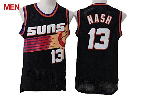 Phoenix Suns Steve Nash #13 Men's Retro Jersey - Black L