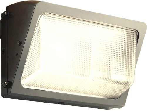 100w Metal Halide Wallpack (RAB WP2H100QTPCS Wallpack 100W-Metal Halide QT Glass Lens Lamp 120V with Swivel Photocell, Bronze)