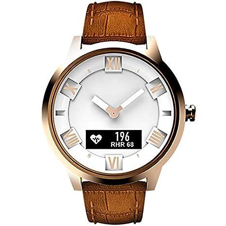 Smartwatch Inteligente Artificial Lenovo Watch X Plus Correa de Cuero Genuino Reloj Inteligente, Soporte Monitor de Ritmo cardíaco/Monitor de sueño/Foto del ...