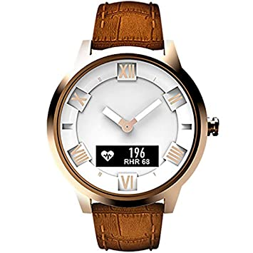 Reloj inteligente de Moda Lenovo Watch X Plus Correa de Cuero ...