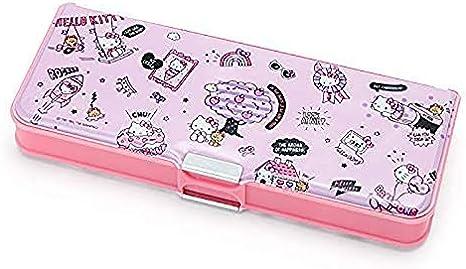 Hello Kitty Sanrio Deluxe - Estuche para lápices, diseño de Hello Kitty: Amazon.es: Juguetes y juegos