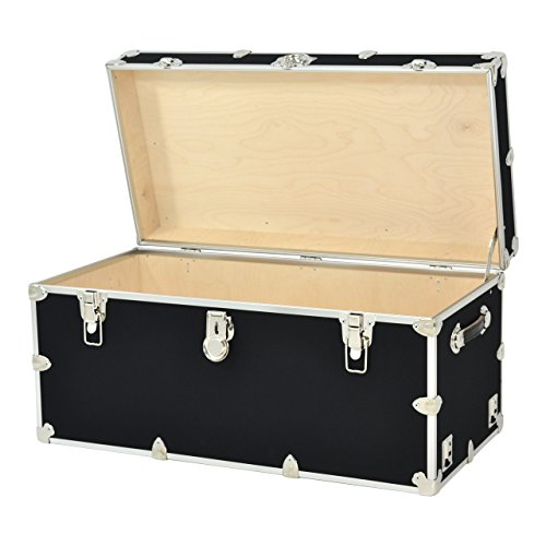 Rhino Armor Dorm Trunk - 35'' x 17'' x 17'' - WITH WHEELS by Rhino Trunk and Case (Image #2)