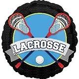 Lacrosse 18 Inch Mylar Balloon 3pk