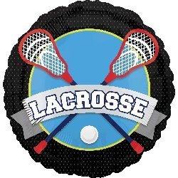 Lacrosse 18 Inch Mylar Balloon 3pk -