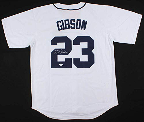 Kirk Gibson Autographed Signed Memorabilia Detroit Tigers Mitchell & Ness Cooperstown Jersey - JSA - Mlb Tigers Signed Hand Detroit