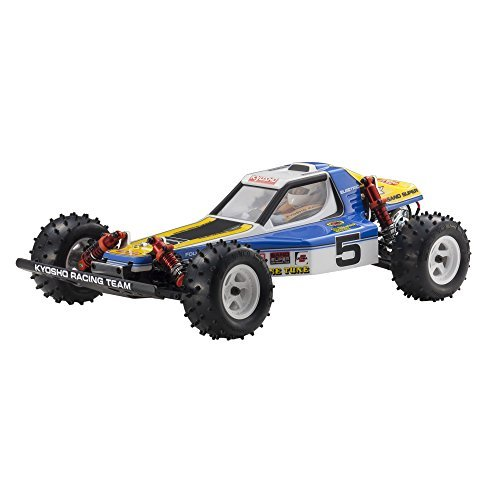 Electric Buggy Kit 4wd (Kyosho 1/10 electric 4WD buggy Vintage series Optima assembly kit RC body 30617)