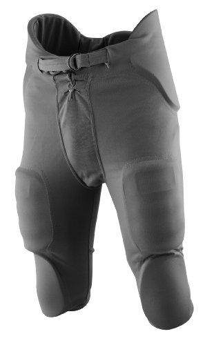 Rawlings Men's F3500P Football Pant (Graphite, Medium) (Football Practice Pants)