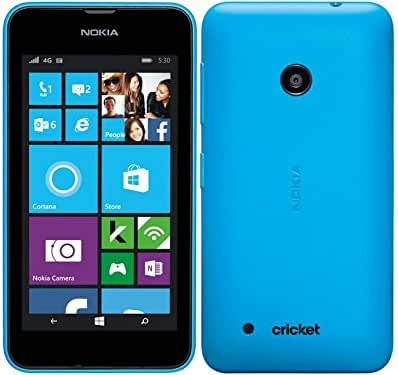 Nokia Lumia 530 Windows SmartPhone (Cricket) No Contract - Blue