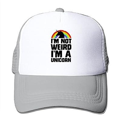 I'm Not Weird I'm A Unicorn Sports Baseball Caps Trucker Hats