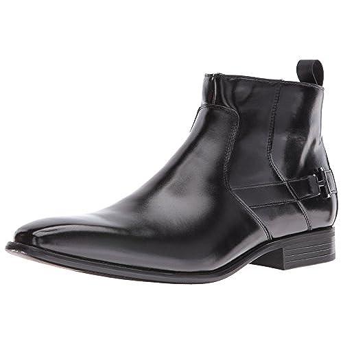 be724eb4131 well-wreapped Stacy Adams Men's Montrose Plain Toe Side Zipper ...
