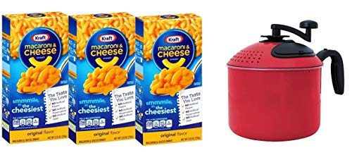 Mac N Cheese 3 Pack with Included Mac Magic Mac N Cheese Maker by Mac Magic