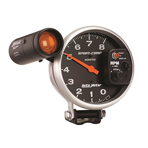 Auto Meter 3905 Sport-Comp Shift-Lite Tachometer by Auto Meter