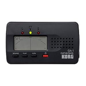 KORG GA-1, Stimmgerät / Tuner für Gitarre und Bass