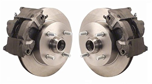 SSBC A120-5 Front Drum to Disc Brake Conversion Kit