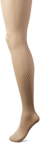 - HUE Women's Petite Fishnet Tights, chinos, S/M