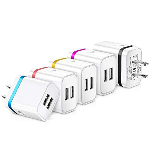 USB Wall Charger, Plug Charger, iSeekerkit Dual USB for sale  Delivered anywhere in Canada