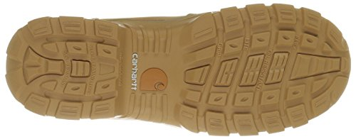 Wheat Safety Toe Work 8 Boot Breathable Mens Insulated Leather Carhartt Rugged Flex Waterproof 7HfcwF0