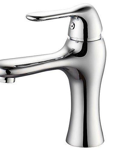 SZ Hona? beliebtes Stil Duckbilled Modellier galvanisiert mit Messing 1Loch 1Single Kälte und Hot Waschbecken Wasserhahn