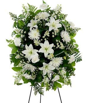Spray Funeral - Monte Casino Bouquet - Same Day Funeral Flower Arrangements - Buy Flowers for Funeral - Send Funeral Flowers Delivery & Condolence Flowers Today