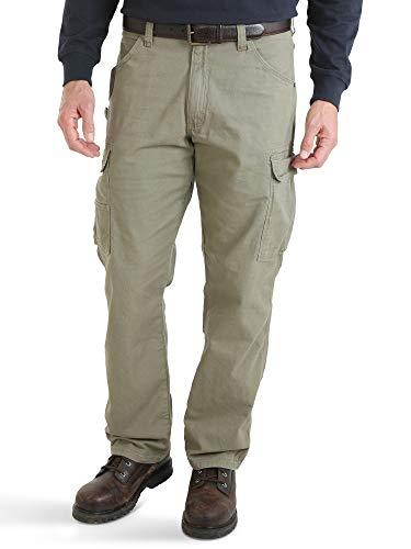 Wrangler Men's Riggs Workwear Lightweight Ranger Pant, bark, 40x32