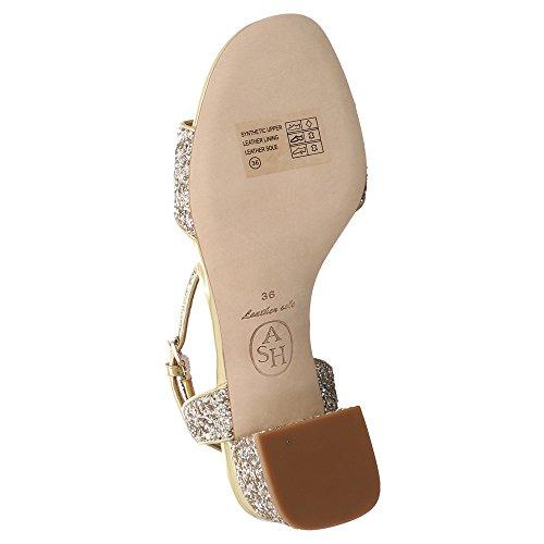 Aske Remix Sandalette Med Glitrende Guld 6QYe96ZMr