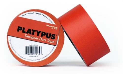 fortis-design-pt-orange-platypus-orange-linen-designer-duct-tape30-foot-length-x-188-inches-width