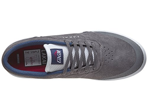 Lakai Anchor Staple Manchild Shoes Grigio Suede Grigio