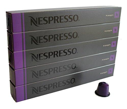 NESPRESSO 네스프레소 캡슐 커피 앨 배 지오 1개 10캡슐×5개 세트