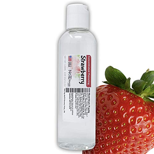 NoTE Liquid Strawberry 1-4oz - Food Grade Concentrated Flavoring for Cooking, Baking, or DIY Liquid (120mL/4oz) (Best Concentrated E Juice Flavors)