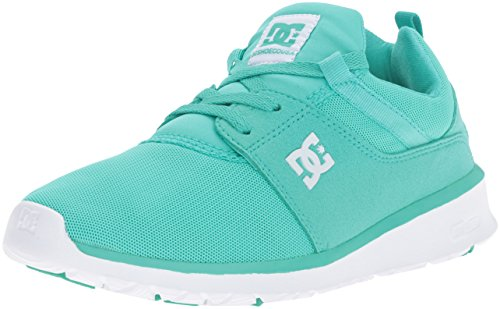 DC Shoe Heathrow Women's Turquoise White Skateboarding aHZOT