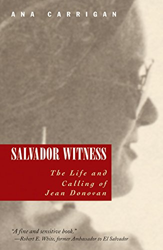 ##DOC## Salvador Witness: The Life And Calling Of Jean Donovan (Ecology And Justice). latest union interno Dionne pride article
