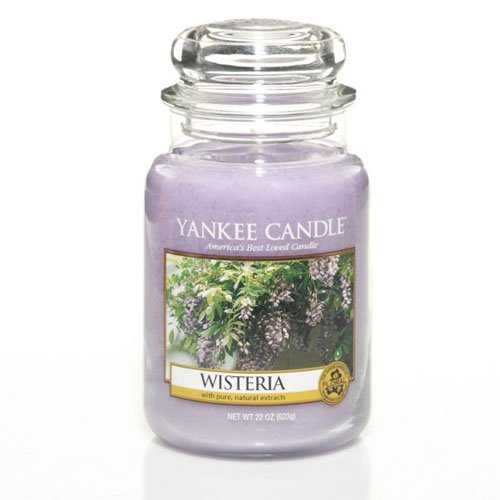 Wisteria 22oz Large Jar Yankee Candle ()