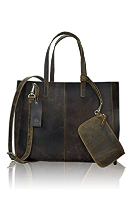 CYBER MONDAY SALE !!! NEW ARRIVAL !!! - TONY'S BAGS - HOBO Bags Shopper Bags Evening Bags Work Bag with small Satchel in Vintage Leather
