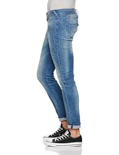Jeans 648 Blue Slim Gila Herrlicher polo Donna Blau nA4EnUvO