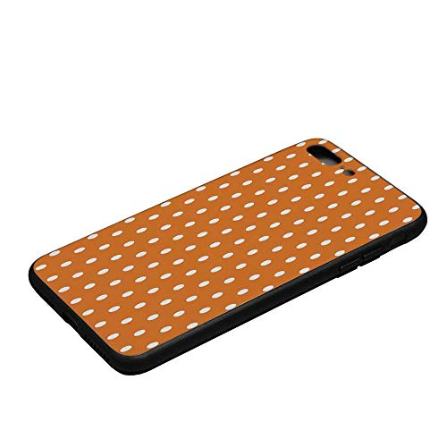 Burnt Orange Durable Compatible with iPhone 8 Plus Frosted case,for Mobile Phone,Compatible with iPhone 8 Plus