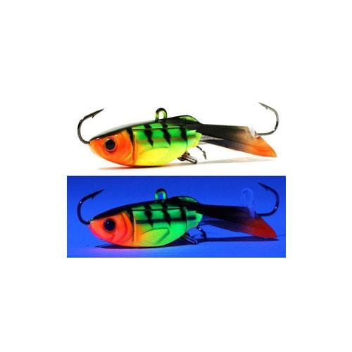 Acme Tackle Hyper-Glide Artificial Fishing Bait, Fire Tiger, 1.5