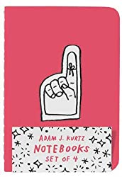 Adam J. Kurtz Notebooks (Set of 4)