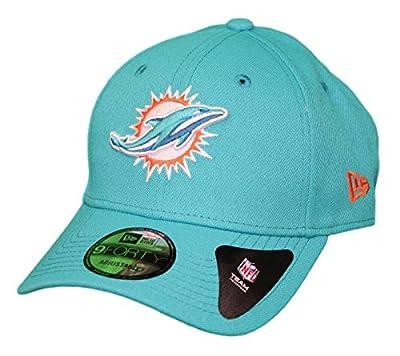 New Era 9Forty Hat Miami Dolphins The League Aqua Blue Adjustable Cap
