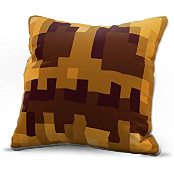 Jay Franco Minecraft Decorative Pillow Cover Pumpkin