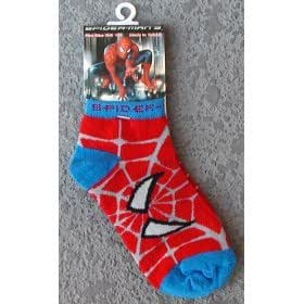 3 pairs Spiderman Socks for Boys by Marvel