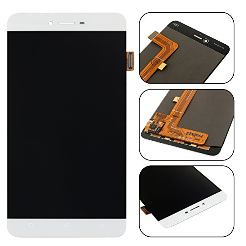 For BLU Vivo 5 V0050UU LCD Digitizer Replacement HYYT New LCD display + Touch Screen Digitizer Full of assembly (white) by HYYT (Image #1)