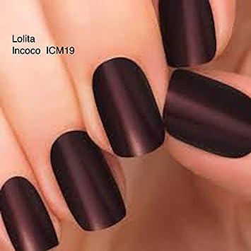 Cartucho de tinta negra Lolita Incoco para esmalte de uñas a base de cierre de botón ...