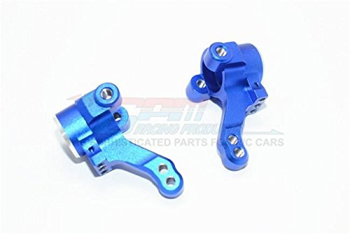 Knuckle Arm Set - Traxxas Ford GT 4-Tec 2.0 (83056-4) Upgrade Parts Aluminum Front Knuckle Arm - 1Pr Set Blue