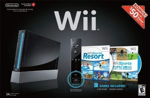Wii Hardware Bundle - Black (Best Wii Console Bundle)
