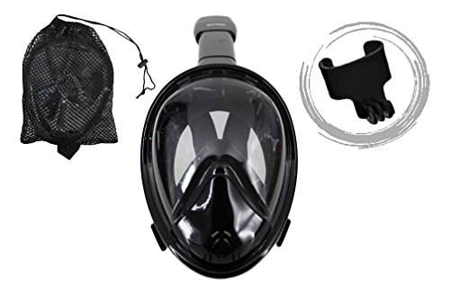 Trax To Tracks TTT12 Panoramic Full Face Snorkel-Dive - Cheap Scuba Goggles