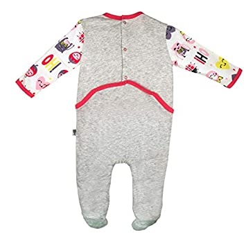 Pyjama b/éb/é gris Jolie Taille 3 mois 62 cm