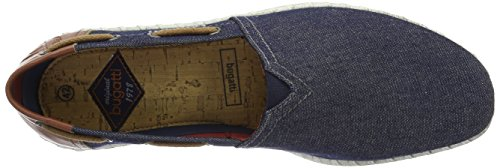 Bugatti Herren K44656 Low-Top Blau (jeans 455)