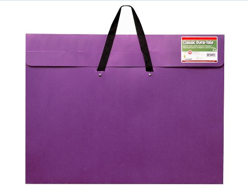 Star Products Classic Dura-Tote Artist Portfolio, 14 by 20-Inch, Purple
